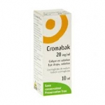 Cromabak, 20 mg/mL x 10 sol col