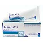 Benzac 5, 50 mg/g x 40 gel bisn