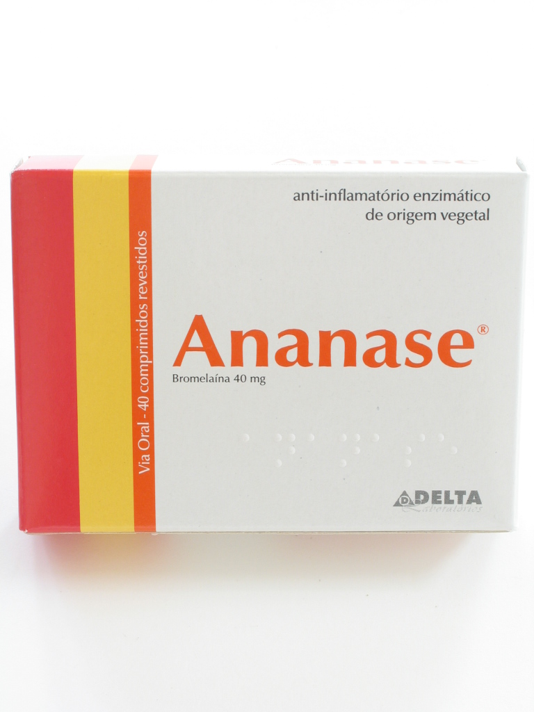 Ananase, 40 mg x 40 comp revest