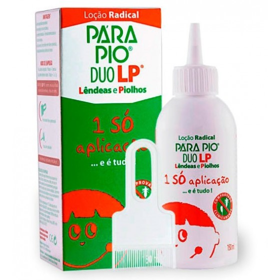 Parapio Duo Lp Locao 150 Ml