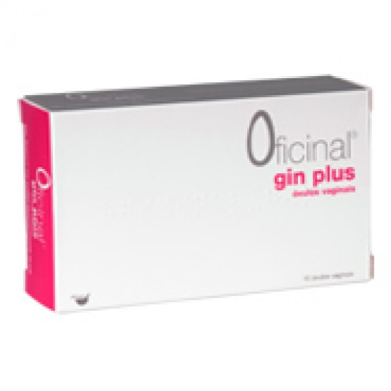 Gin Plus Oficinal Ovulo Vaginal X 10