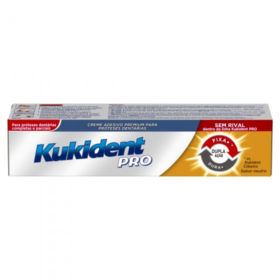 Kukident ProCr Dupla Accao Protes 40g