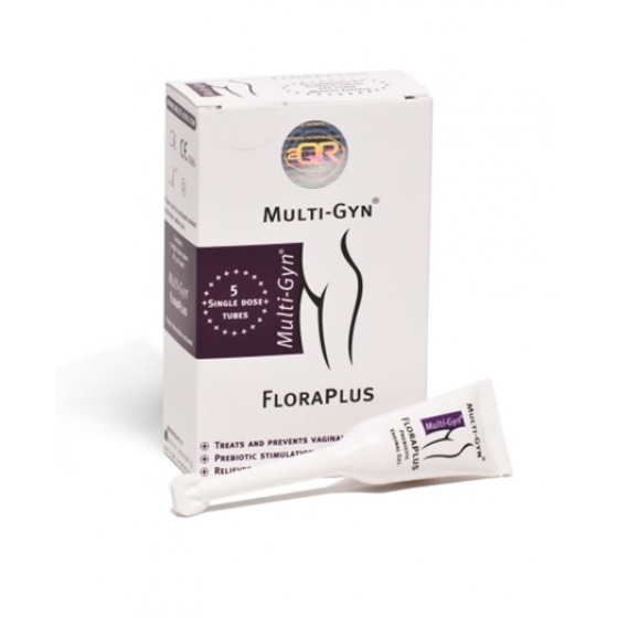 Multi Gyn Florapl Cr Vag 5ml X 5