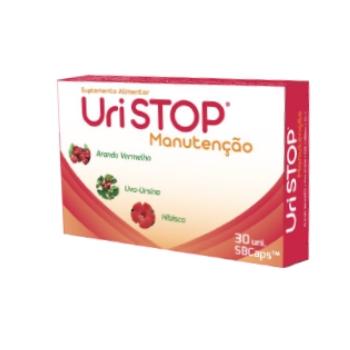Uri Stop  Manutenção 30 saquetas