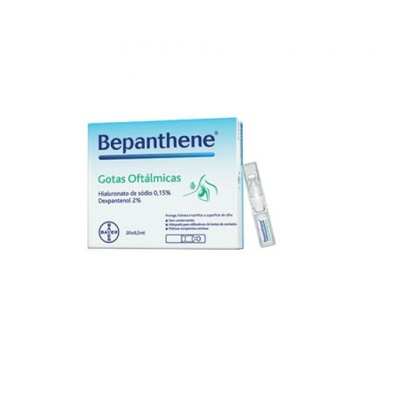 BepantheneGts Oft 0,5ml X 20