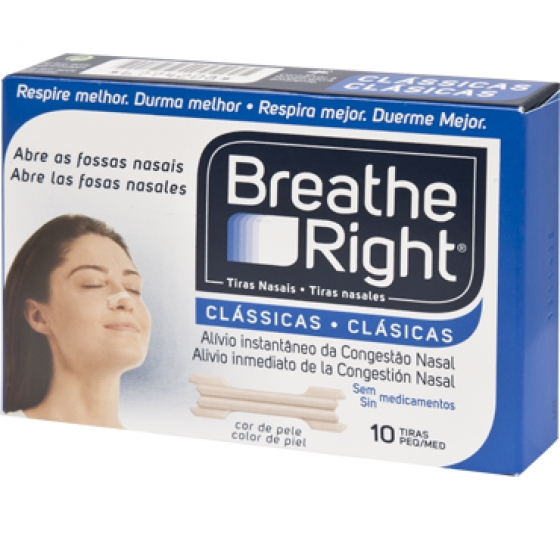 Breathe Right Penso Nasal Peq/Med X 10
