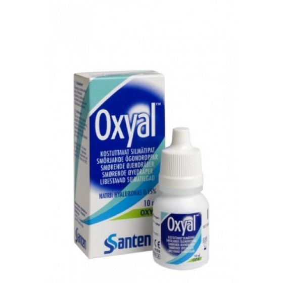 Oxyal Sol Oft Lubrif 10ml