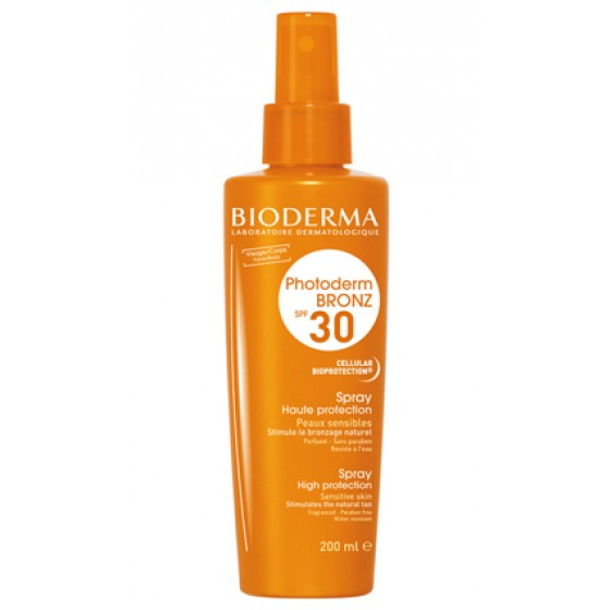Photoderm Bioderm Bronz Spray Spf30 200 Ml
