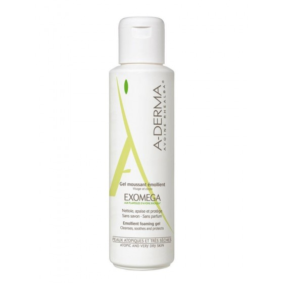 A-Derma Exomega Gel Moussan 500 Ml