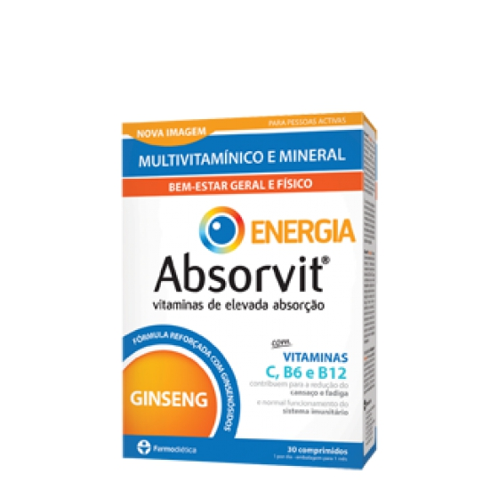 Absorvit Energia Comp X 30 x 30 comps
