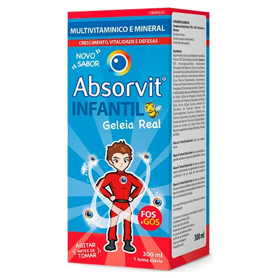 Absorvit Infantil Xar 300 Ml xars mL
