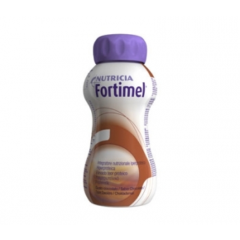 Fortimel S/Lactos Sol Chocolate 200 Ml X4