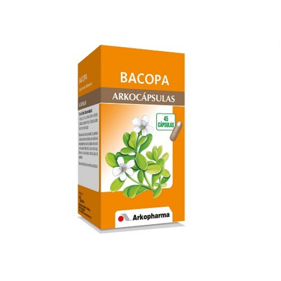 Arkocapsulas Caps Bacopa X 45